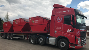 Refurbished Skip Waste Container