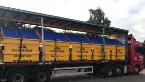 New Build Skip Waste Container Manufactured