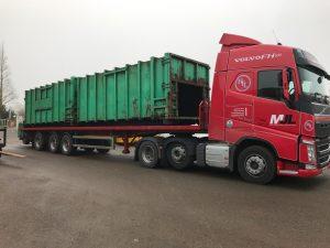 Refurbished Skip Waste Container